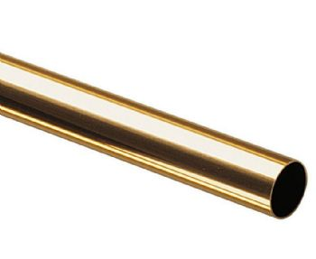 Brass Round Tube - Fine Series